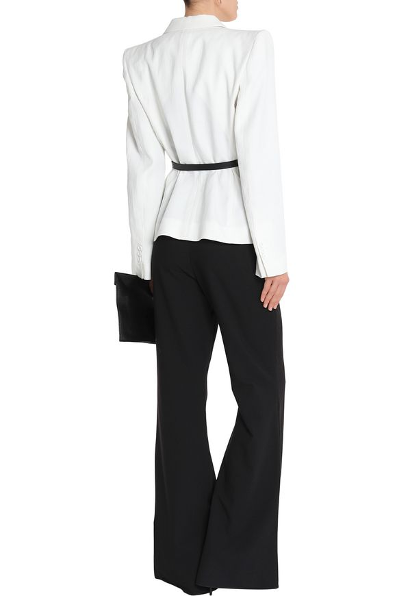 Linen and ramie-blend blazer | SONIA RYKIEL | Sale up to 70% off | THE  OUTNET