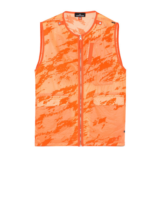Vest G0103 DROP POCKET VEST (LUCID FLOCK) STONE ISLAND SHADOW PROJECT - 0