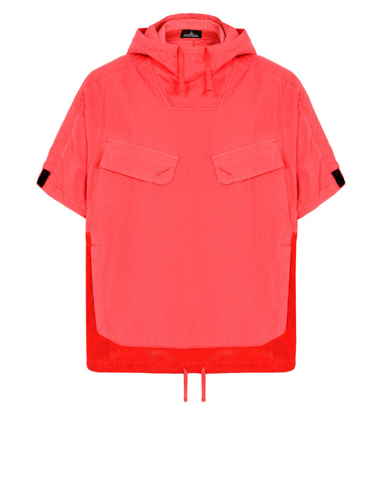 ЛЕГКАЯ КУРТКА 40706 ANORAK SHIRT WITH CHAMBER POCKETS AND ARTICULATION TUNNELS (NYCO POPLIN) STONE ISLAND SHADOW PROJECT - 0