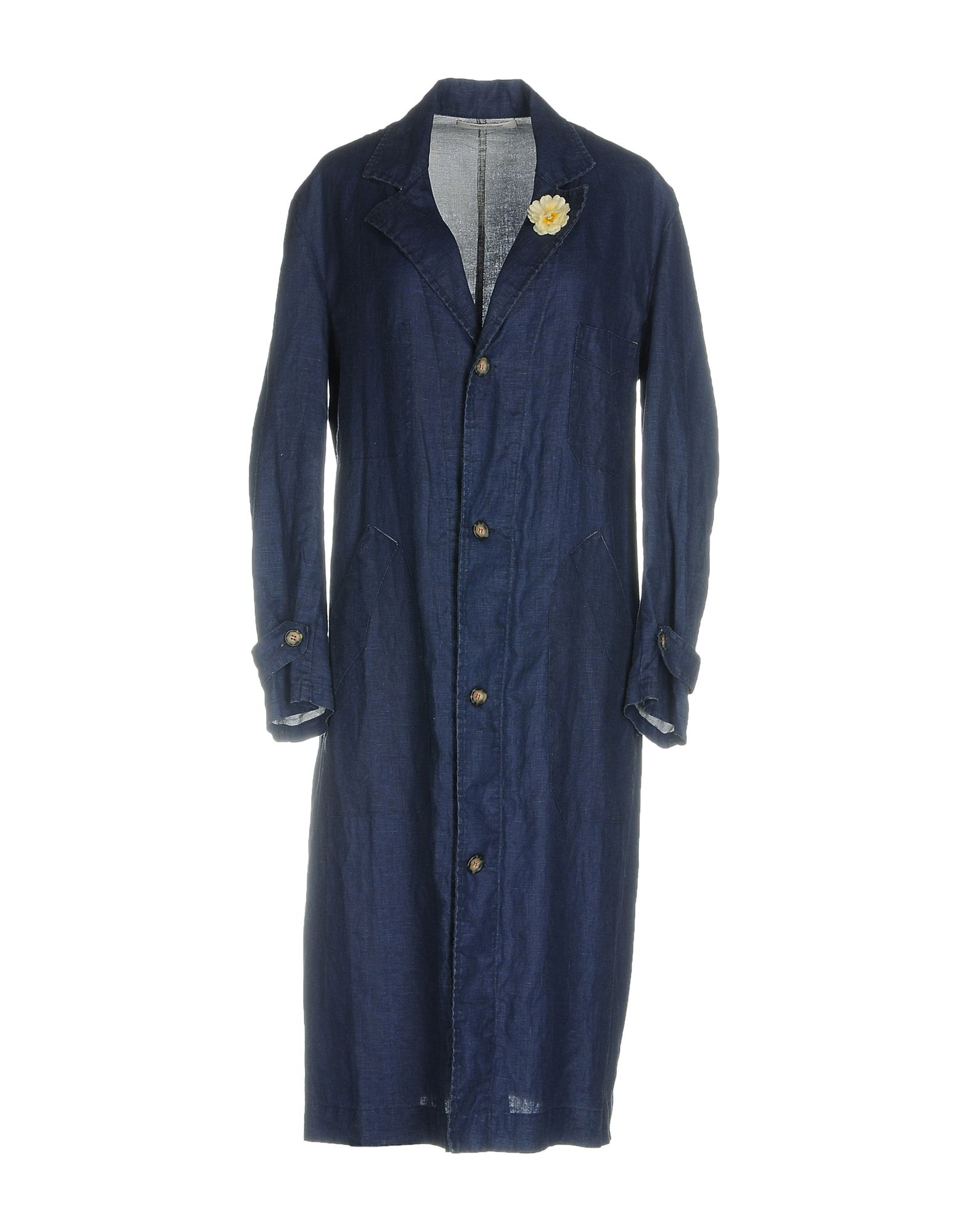 ERMANNO GALLAMINI Full-Length Jacket in Blue