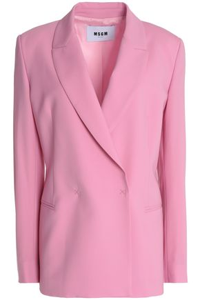 MSGM Double-breasted wool-blend blazer