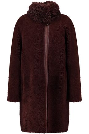 YVES SALOMON METEO shearling coat