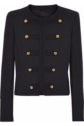 BELSTAFF Button-embellished wool-blend twill jacket