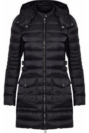 BELSTAFF Quilted shell down hooded jacket