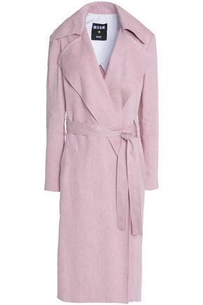 MSGM Cotton-twill trench coat