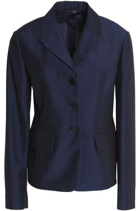 JIL SANDER Mohair, wool and silk-blend blazer