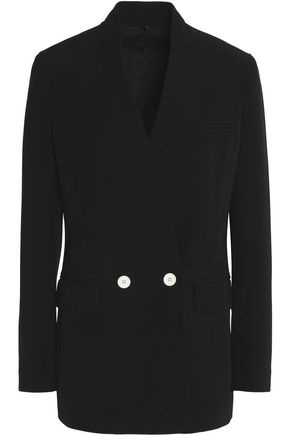 HELMUT LANG Double-breasted twill blazer