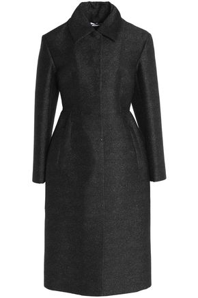 JIL SANDER Metallic knitted coat