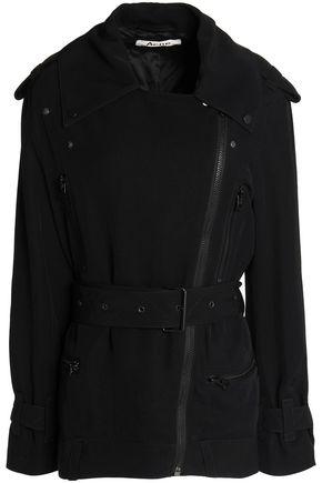 ACNE STUDIOS Asymmetric zip-front twill jacket