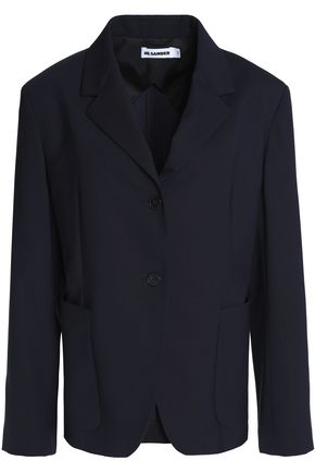 JIL SANDER Virgin wool-blend blazer