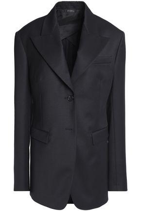 JIL SANDER Virgin wool-twill blazer