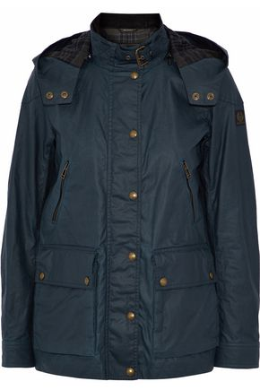 BELSTAFF Coated cotton-canvas jacket