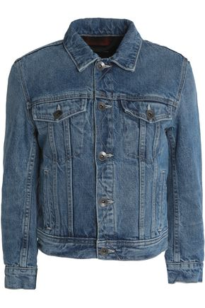 HELMUT LANG Cropped denim jacket