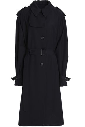 JIL SANDER Wool-twill trench coat