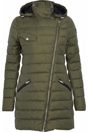 BELSTAFF Quilted cotton-blend down coat