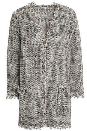 JOIE Frayed tweed jacket