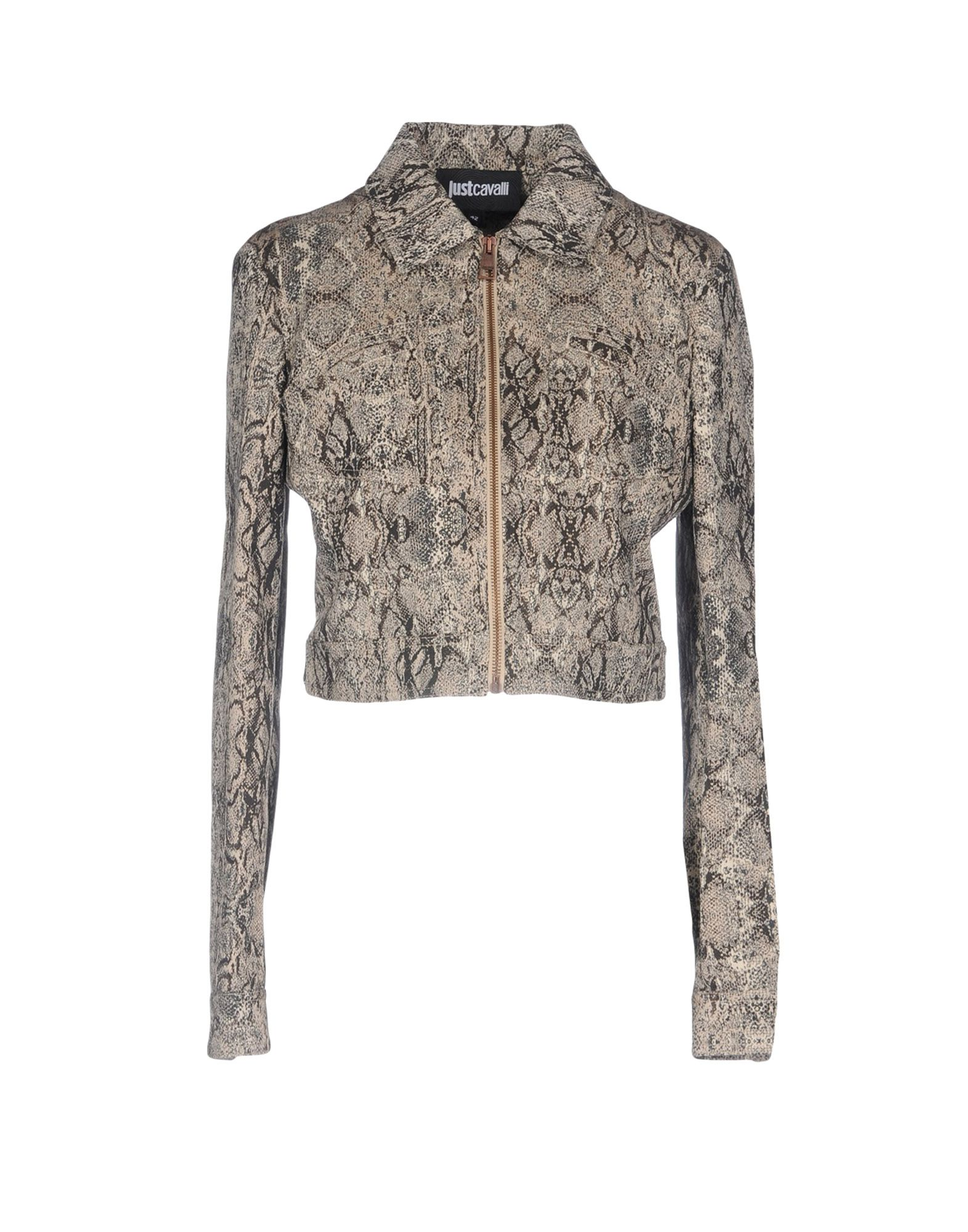 JUST CAVALLI Куртка just cavalli джинсовая верхняя одежда
