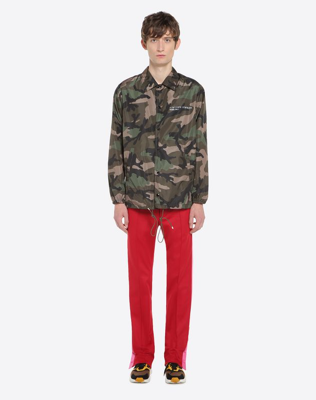 Coach Jacket in Camouflage-Optik und Anywhen