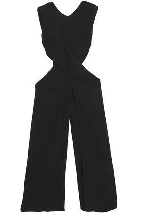 ROKSANDA Cutout silk-crepe top