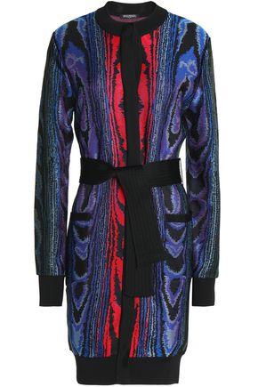 BALMAIN Knitted inntarsia cardigan
