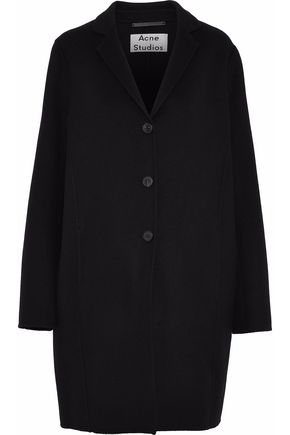 ACNE STUDIOS Wool and cashmere-blend coat