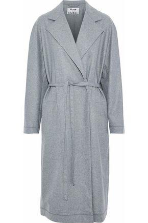 ACNE STUDIOS Belted wool-blend coat