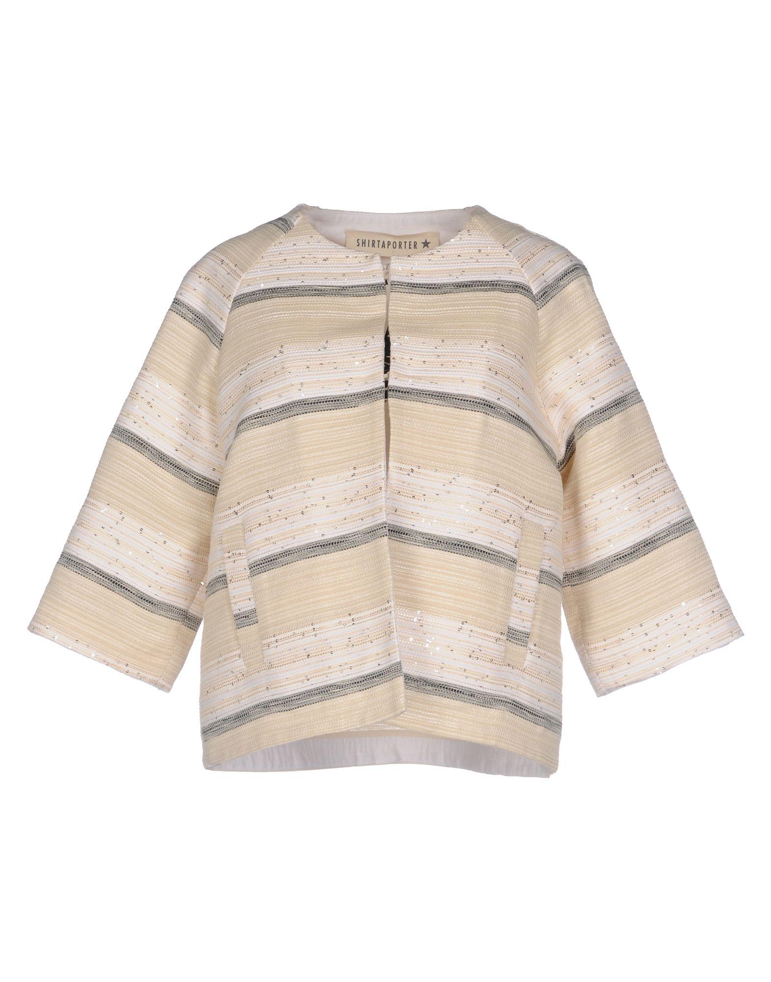 SHIRTAPORTER Пиджак shirtaporter платье длиной 3 4