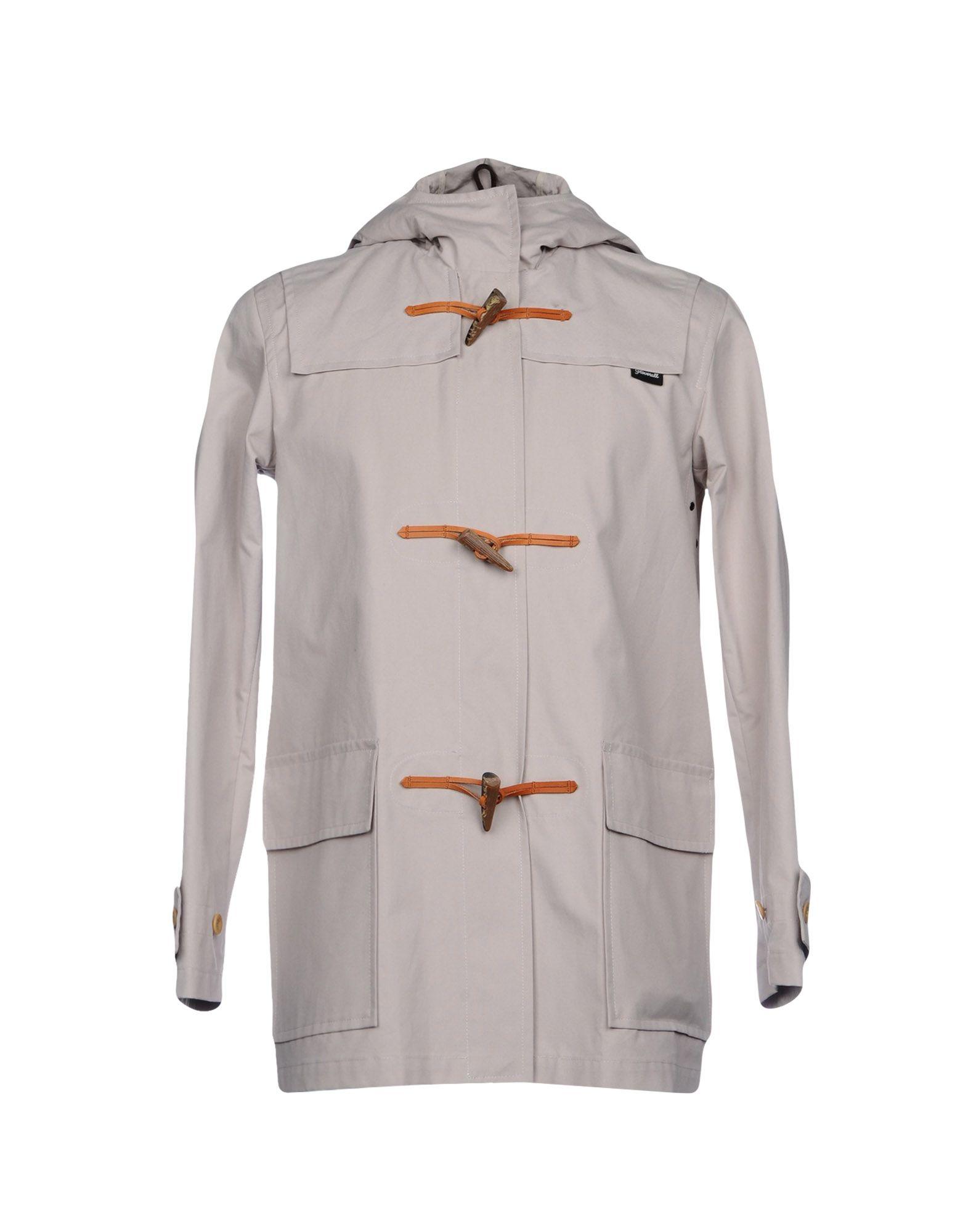 GLOVERALL Duffle Coat in Light Grey