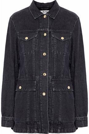 ACNE STUDIOS Paneled denim jacket ...