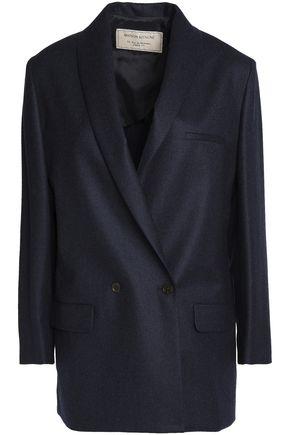 MAISON KITSUNÉ Double-breasted mélange wool blazer