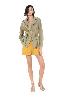 ALBERTA FERRETTI Monkey colonial jacket Jacket Woman f