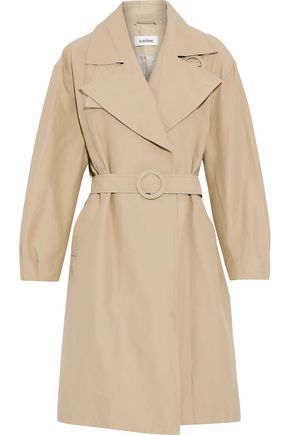 TOTÊME Cotton-blend garbardine trench coat