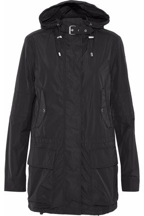 BELSTAFF Gathered shell hooded coat