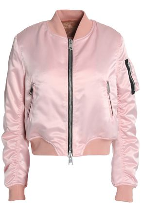 AINEA Satin bomber jacket