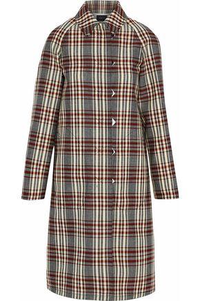 DEREK LAM Checked canvas coat