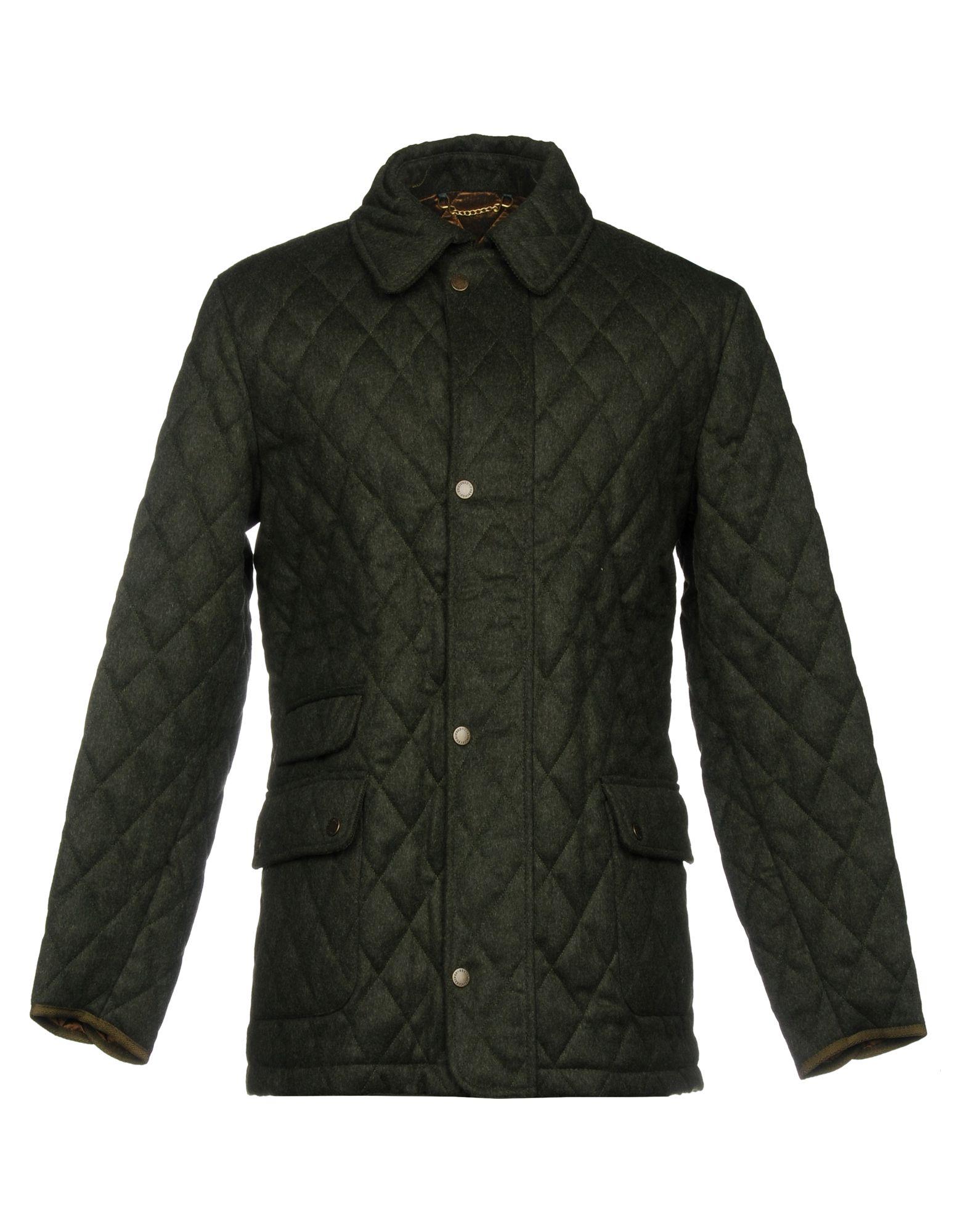 CORDINGS Jacket in Dark Green