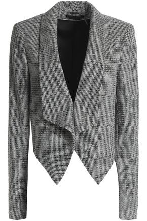 ALICE + OLIVIA Harvey tweed blazer