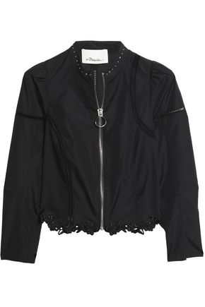 3.1 PHILLIP LIM Embellished cotton-poplin jacket