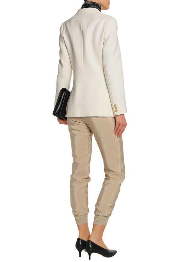 Double-breasted crepe blazer | 3.1 PHILLIP LIM | Sale up to 70% off | THE  OUTNET