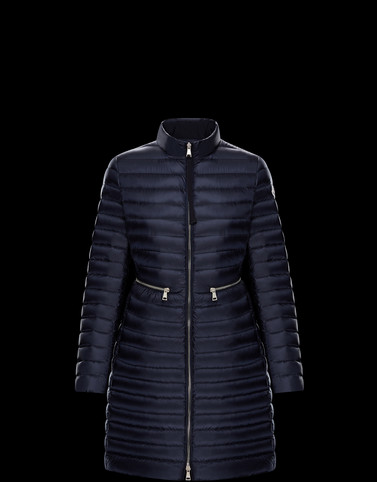 MONCLER AGATELON - Long outerwear - women