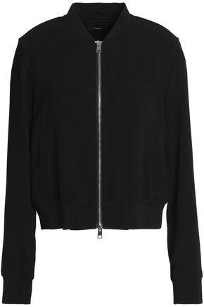 THEORY Crepe bomber jacket