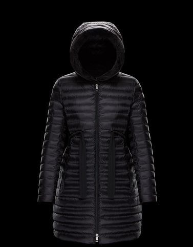 MONCLER BARBELFUR - Long outerwear - women