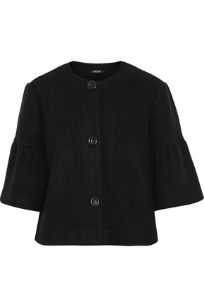 RAOUL Boiled wool-blend jacket