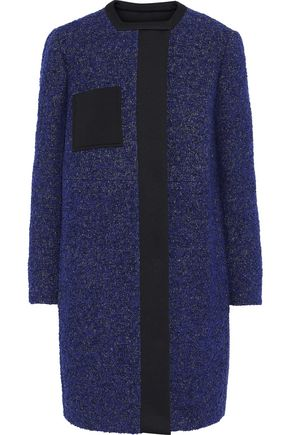 M MISSONI Neoprene-paneled bouclé coat