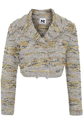 M MISSONI Metallic frayed bouclé jacket