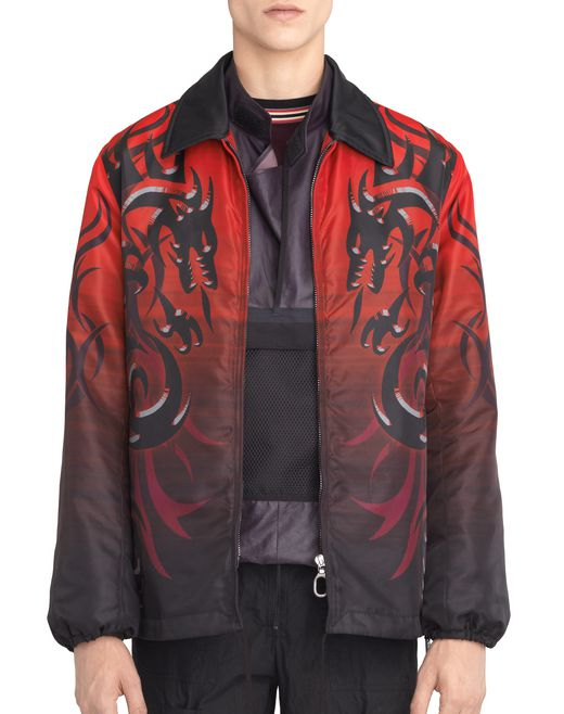 "GIACCA ""DRAGON TRIBAL"" IN NYLON - Lanvin"