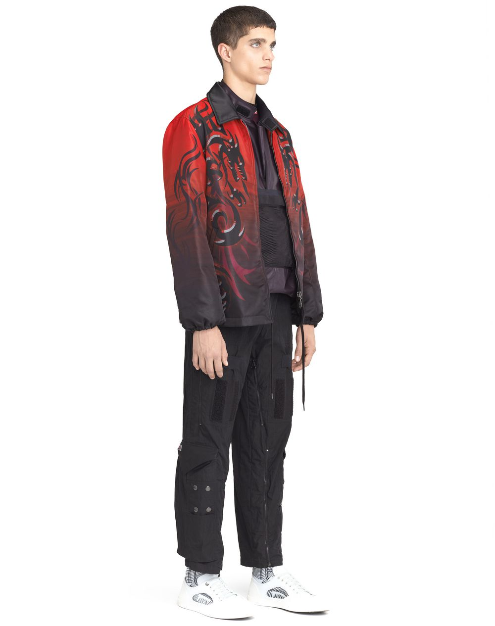 "NYLON ""DRAGON TRIBAL"" JACKET - Lanvin"