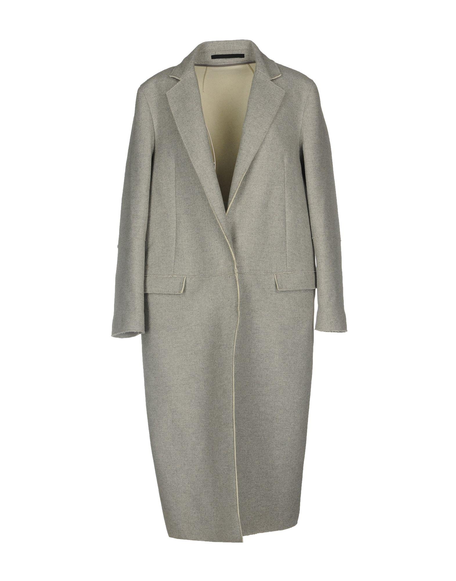 COSTUME NATIONAL Пальто драповое пальто с контрастной отстрочкой c n c costume national пальто в стиле куртки