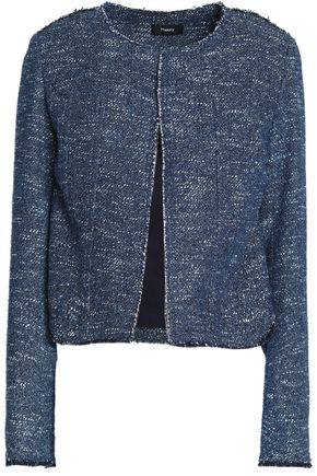 THEORY Bouclé cotton-blend jacket