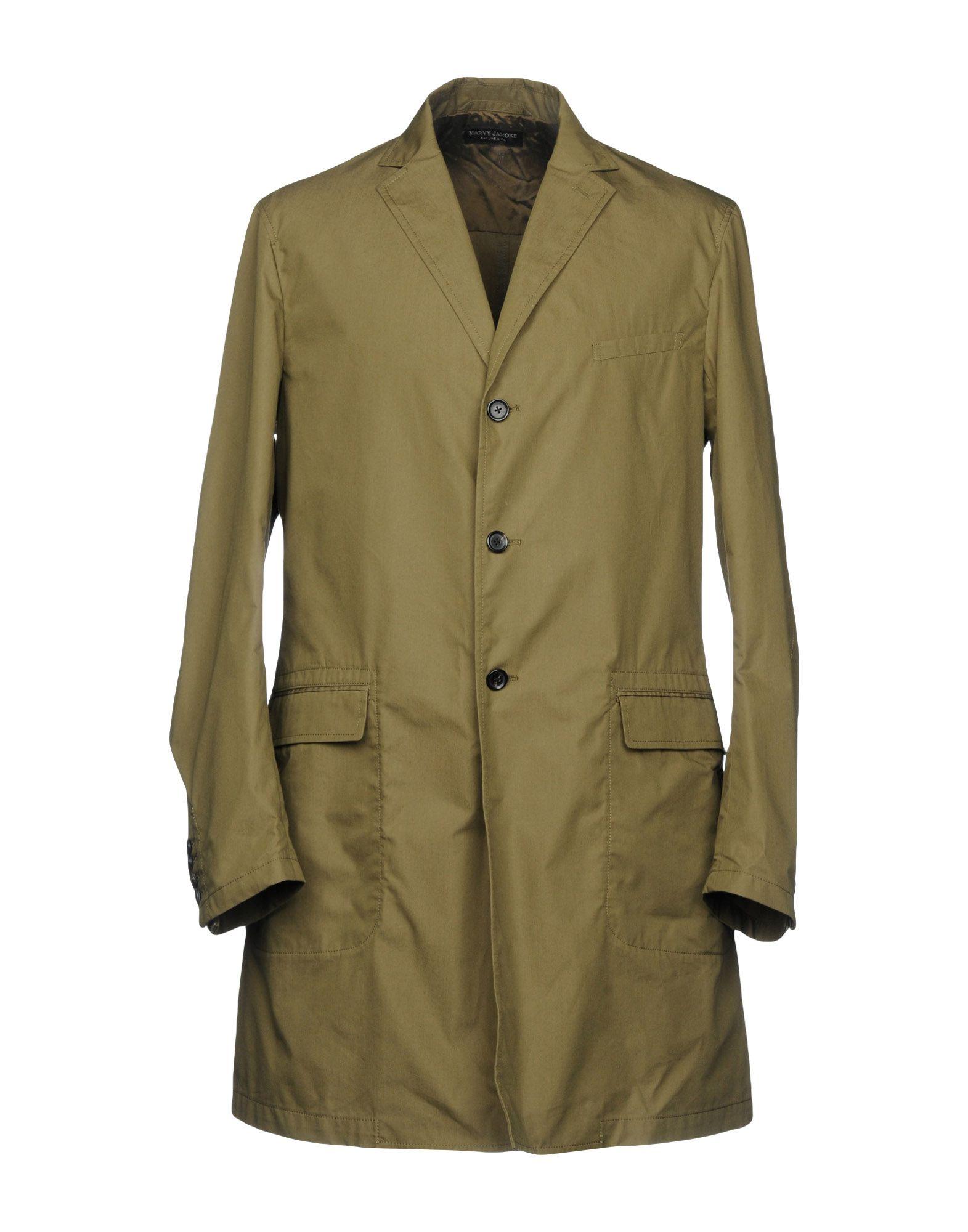 MARVY JAMOKE Full-Length Jacket in Military Green